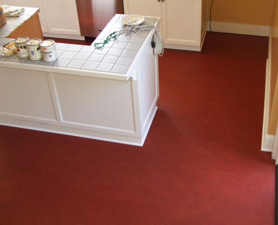 Marmoleum flooring gallery - kitchen