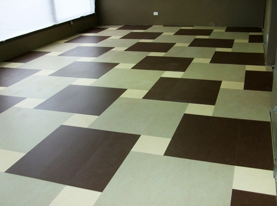 Marmoleum flooring gallery - mud room