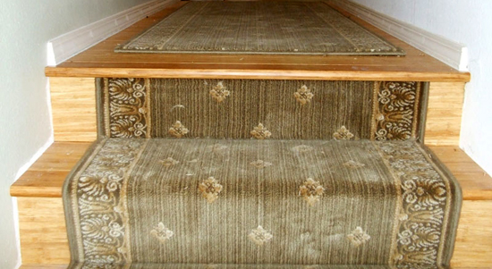 Eco Friendly Rug Gallery: Stairs