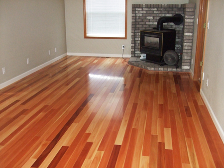 Hardwood Flooring Gallery: Living Room